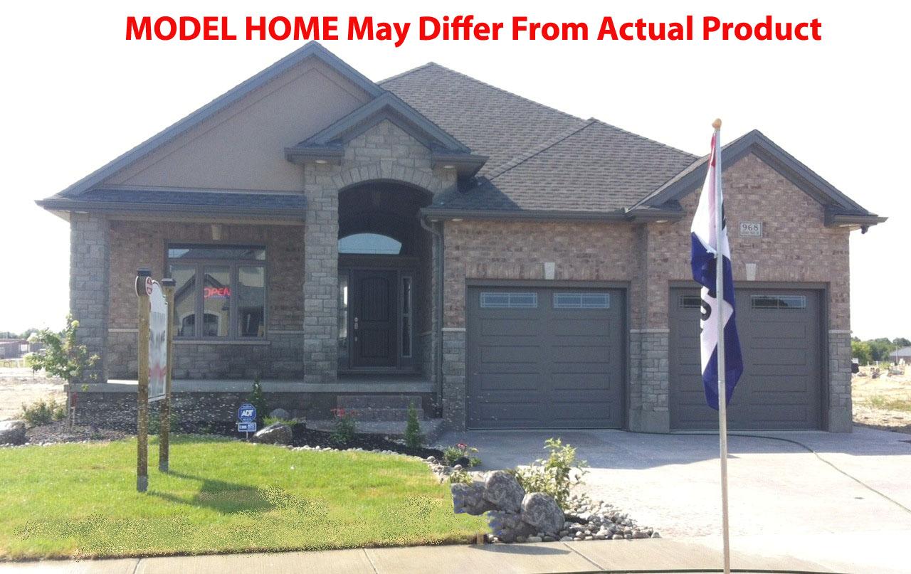 Model example of 30 Kenwood Blvd. in LaSalle, Ontario