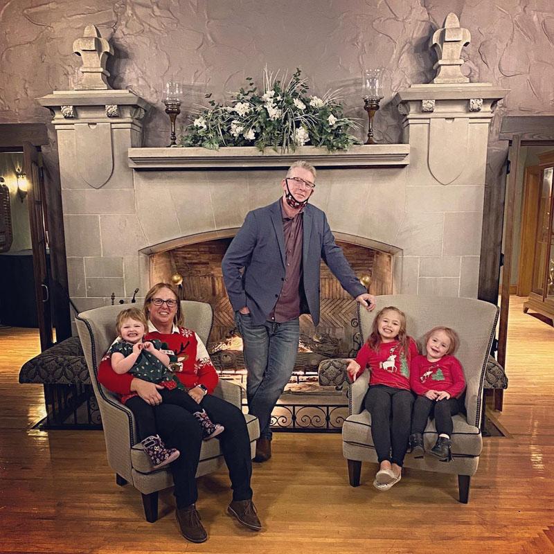 Rob and Deb Armitage and family