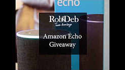 Give Us Your Feedback & Have a Chance to WIN an Amazon Echo