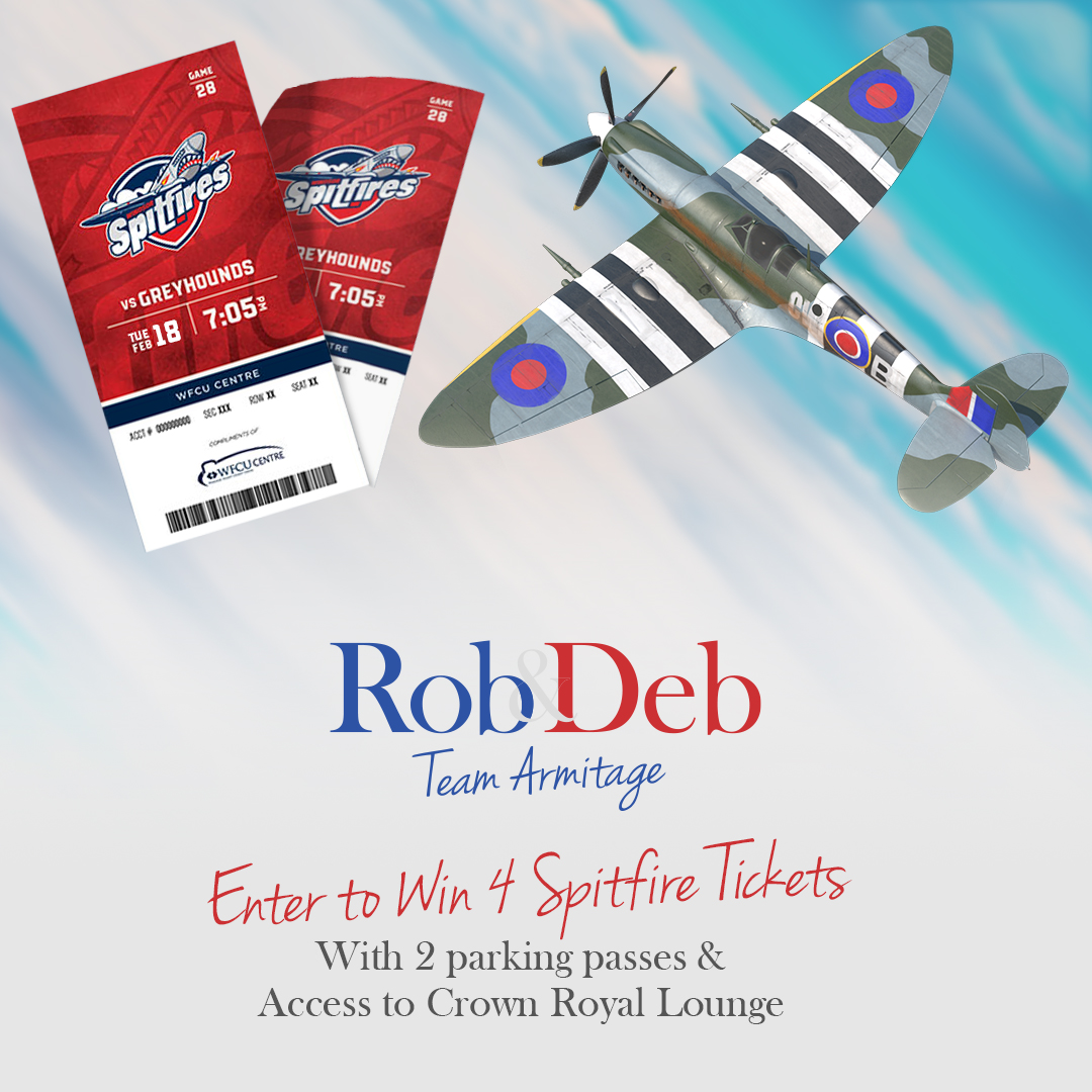 Enter for a Chance to Win 4 Spitfires Tickets!