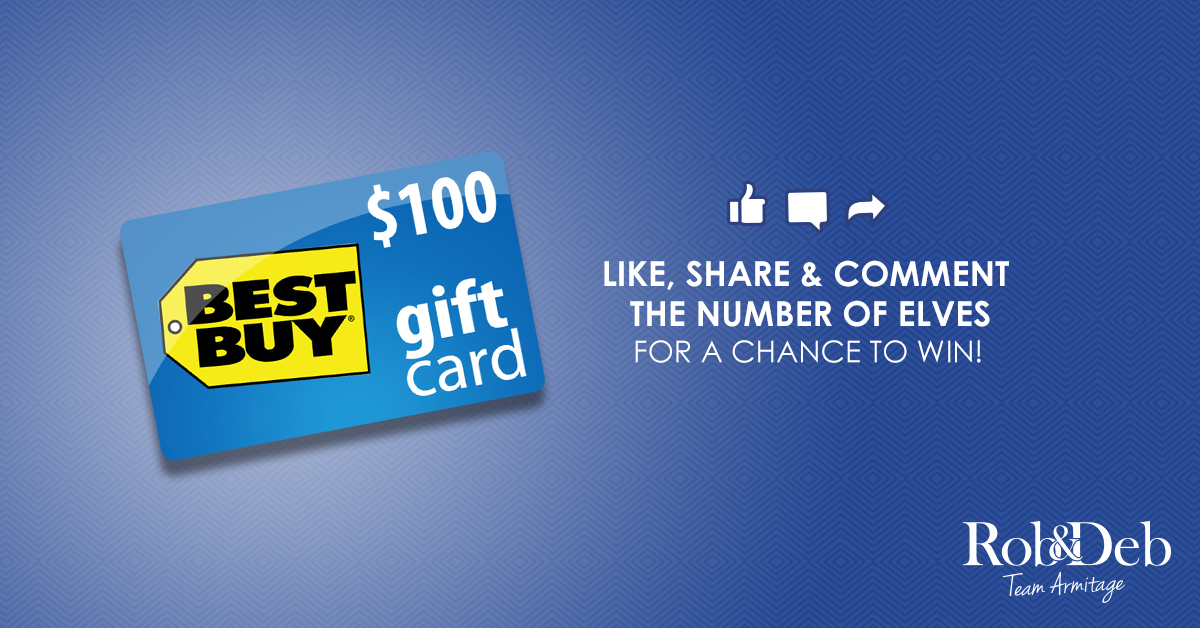 Enter to Win a $100 Best Buy Gift Card in Our Find the Elves Contest!